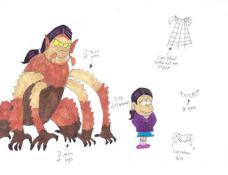 Monster Ronnie-Anne study form by Bry-Guy