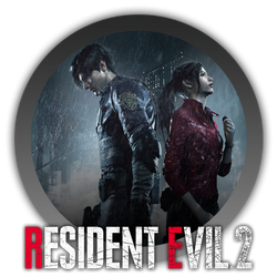 Resident Evil 2 Remake - Icon 2 by Blagoicons