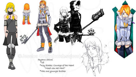 Ikyann:Kingdom Hearts OC by confessjess