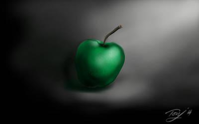 An apple a day by fazerT