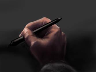 Sketching With wacom pen by fazerT