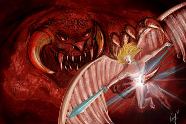 Angel and Daemon by fazerT