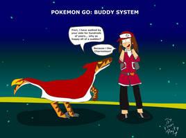 Pokemon Go: Buddy System by fiori-party