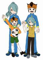 Endou and Kaze-chan by Harucchan