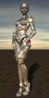 robot pinup 2 by Ean-Sze