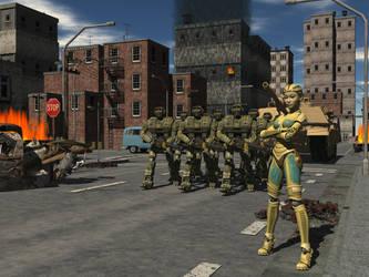 Robots by Ean-Sze
