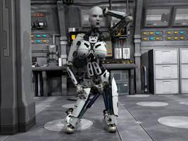 Robot Pin UP 6 by Ean-Sze