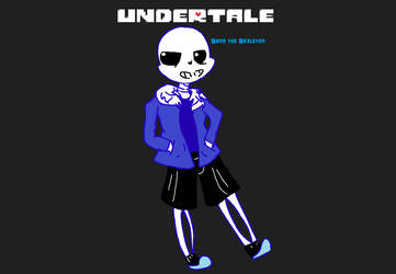 Sans The Skeleton /Fanart/ by TheMasterBlue