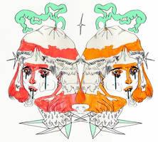fairies (sketch) by kuuramantoonis