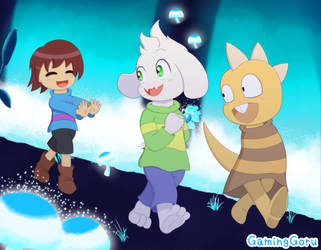 .: Undertale - A Game of Tag :. by GamingGoru