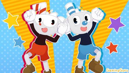 .: Cuphead and Mugman :. by GamingGoru