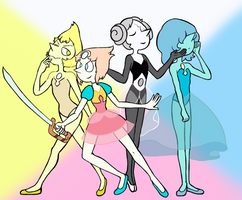 The 4 Pearls by EVPansho