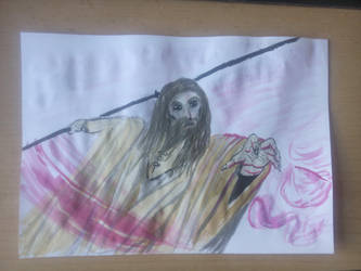 Pink - Tribute Saruman/Christpher Lee by Dave851991