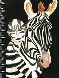 Zebra by borsic