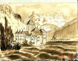 Chateau Chillon by borsic