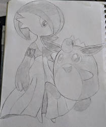 .:PENCIL OF JUNE #2 : LILA AND TIDOU:. by HOBYGRENOUSSE