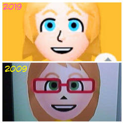 .:TEN YEARS CHALLENGE :. by HOBYGRENOUSSE