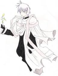 +07 Ghost: Bishop Labrador+ by ShiraHitsugaya