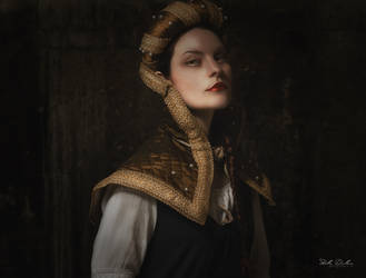 Renaissance portrait by StellaKar