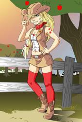Applejack by ari-6