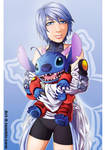 Aqua and Stitch by ari-6