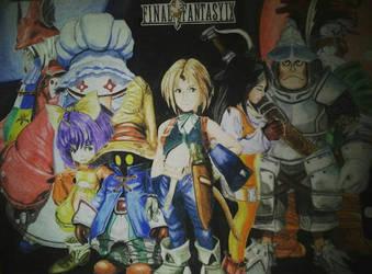 Final Fantasy IX by AlexKingART