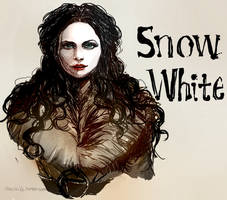 Snow White sketch by TheCecile