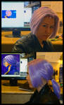 Future Trunks Wig Commission by Ko-chan