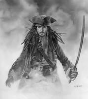 Jack Sparrow by surfdabbler