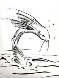 Flying Fish by PleasantDoom
