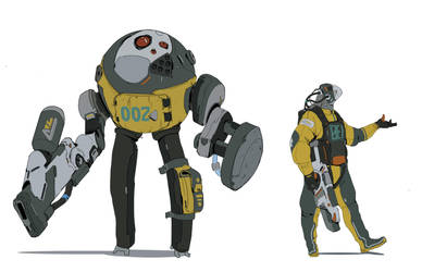 character design #1 by hugo-richard