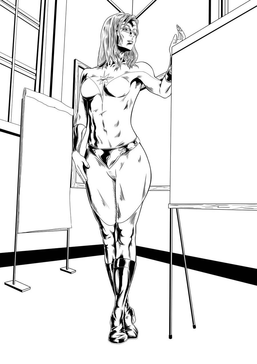Lady Spectrum Inks by castortroy3497