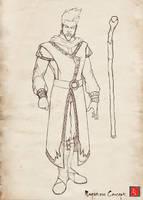 Magister Sketch by castortroy3497