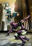 Sky Assassin Battle by castortroy3497