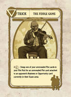 Fiddler Card Illustration by castortroy3497