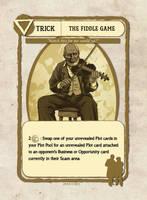 Fiddler Card Illustration by castortroy3497