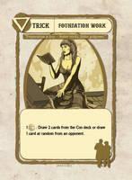 Foundation Work Card Illustration by castortroy3497