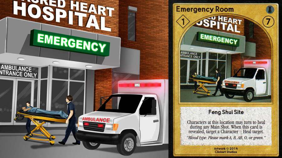 Emergency Room Card by castortroy3497