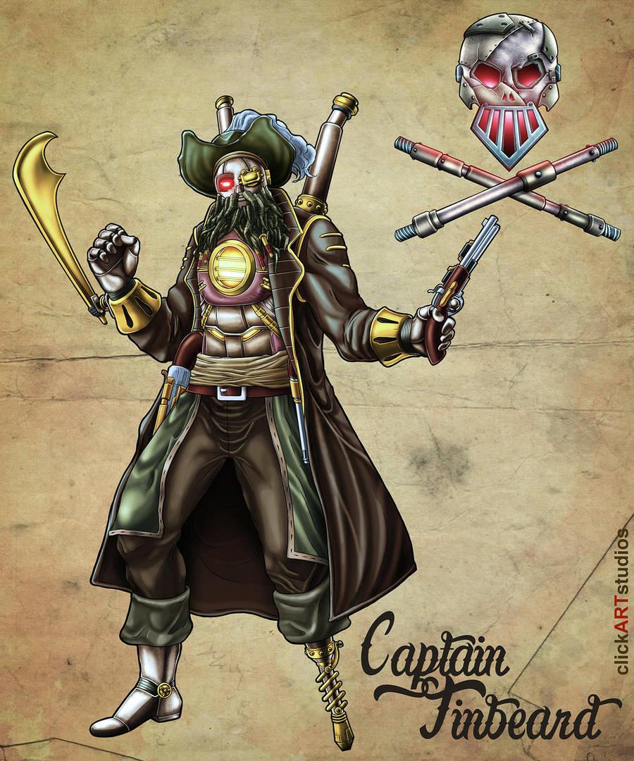 Captain Tinbeard by castortroy3497