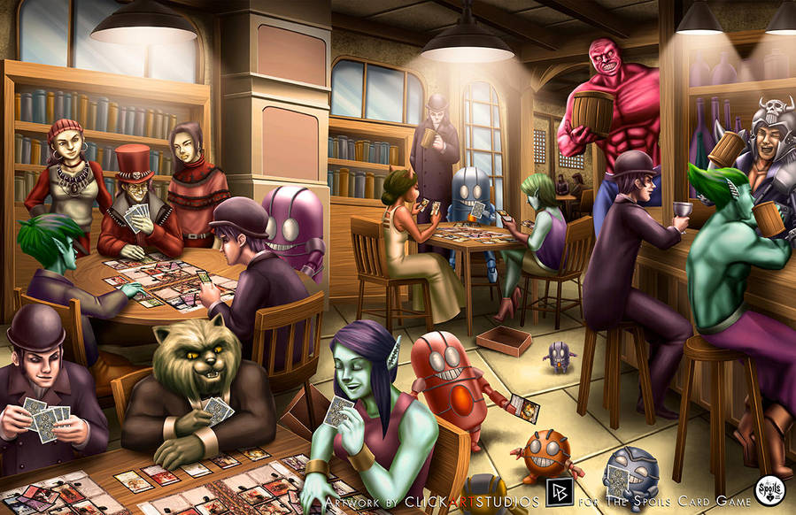 Victor's Pub by castortroy3497