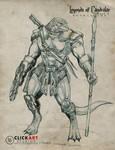 Lizard Soldier by castortroy3497