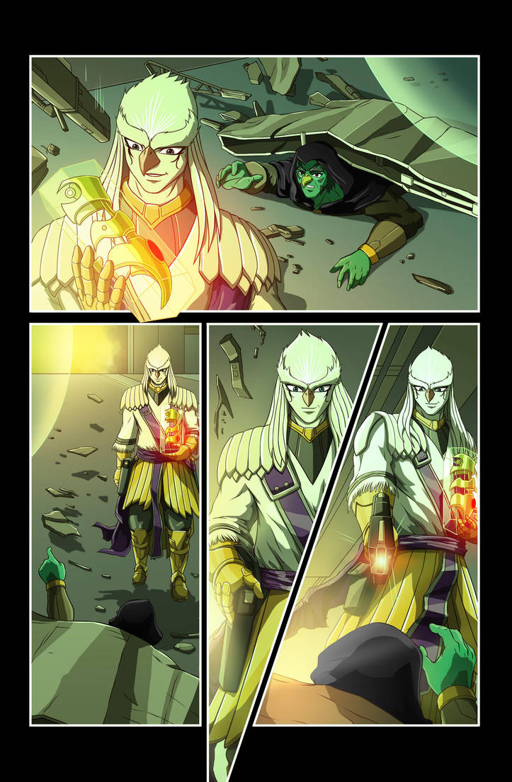 The Star-Band Chronicles Issue #1 Page 20 Artwork by castortroy3497