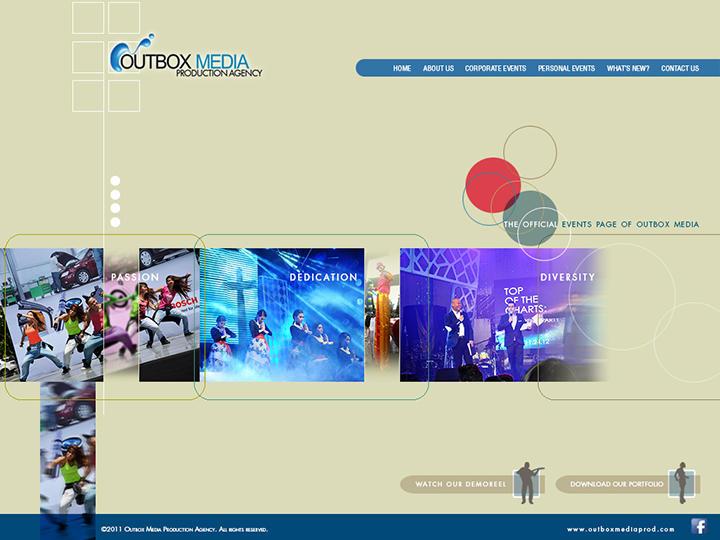 Outbox Media Website design Study 2 by castortroy3497