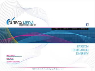 Outbox Media Website design Study 3 by castortroy3497