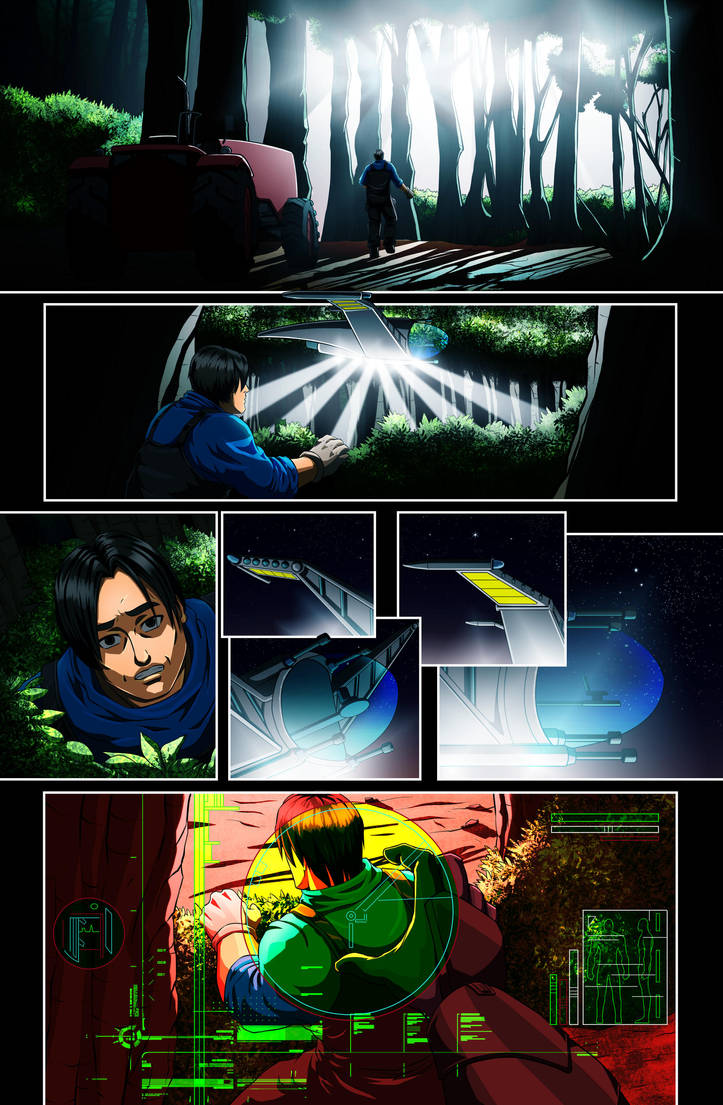 The Star-Band Chronicles Issue #2 Page 14 Artwork by castortroy3497