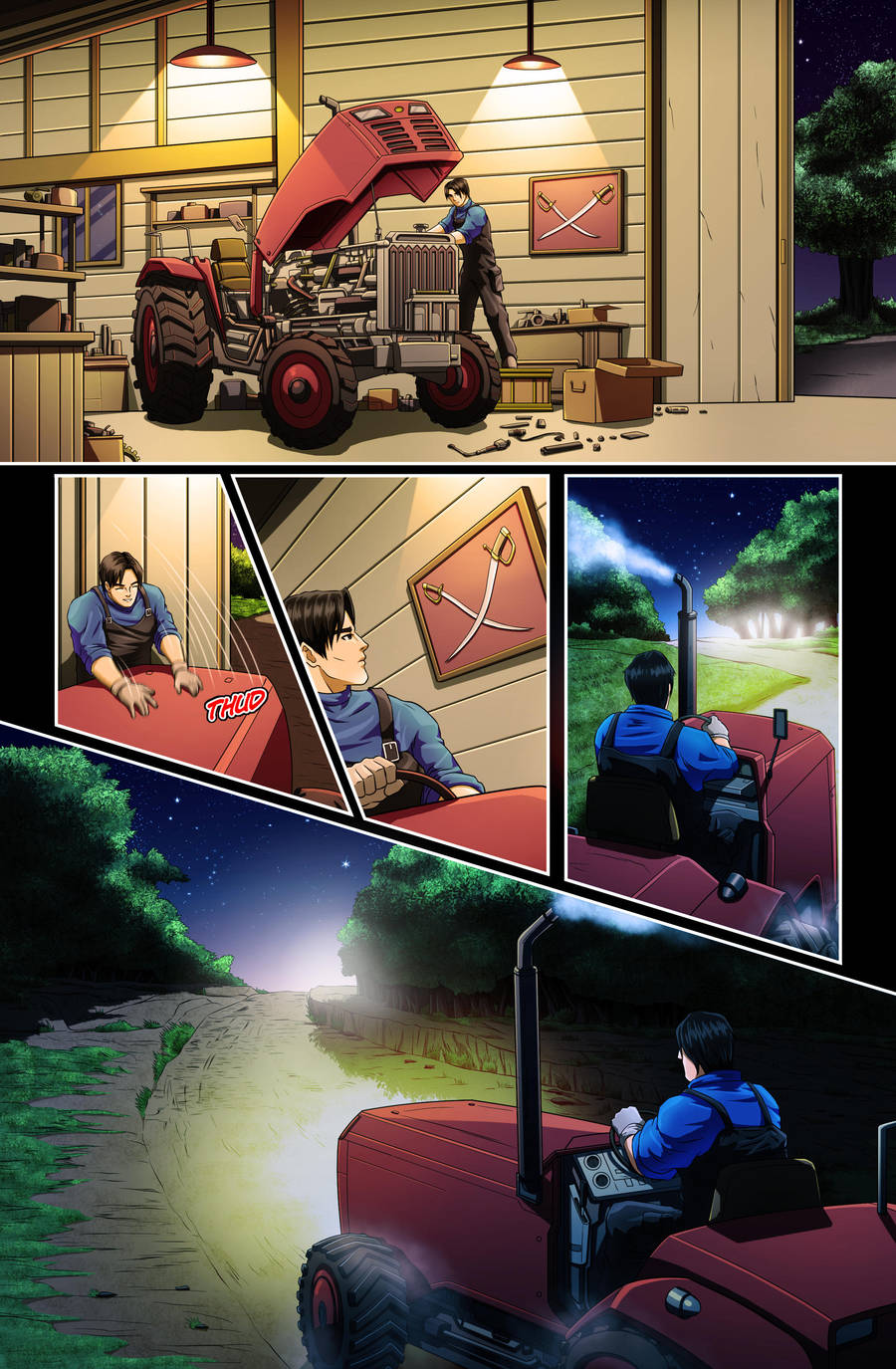 The Star-Band Chronicles Issue #2 Page 13 Artwork by castortroy3497