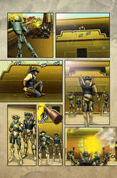 The Legend of Everett Forge Issue #1 Page 12 by castortroy3497