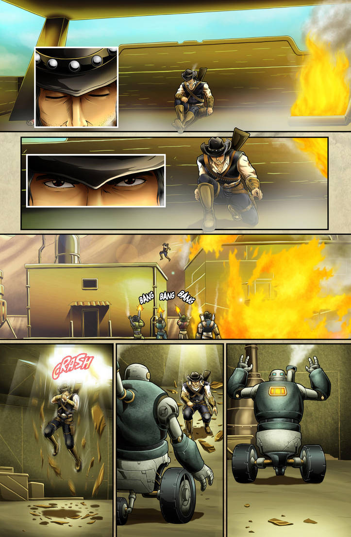 The Legend of Everett Forge Issue #1 Page 13 by castortroy3497