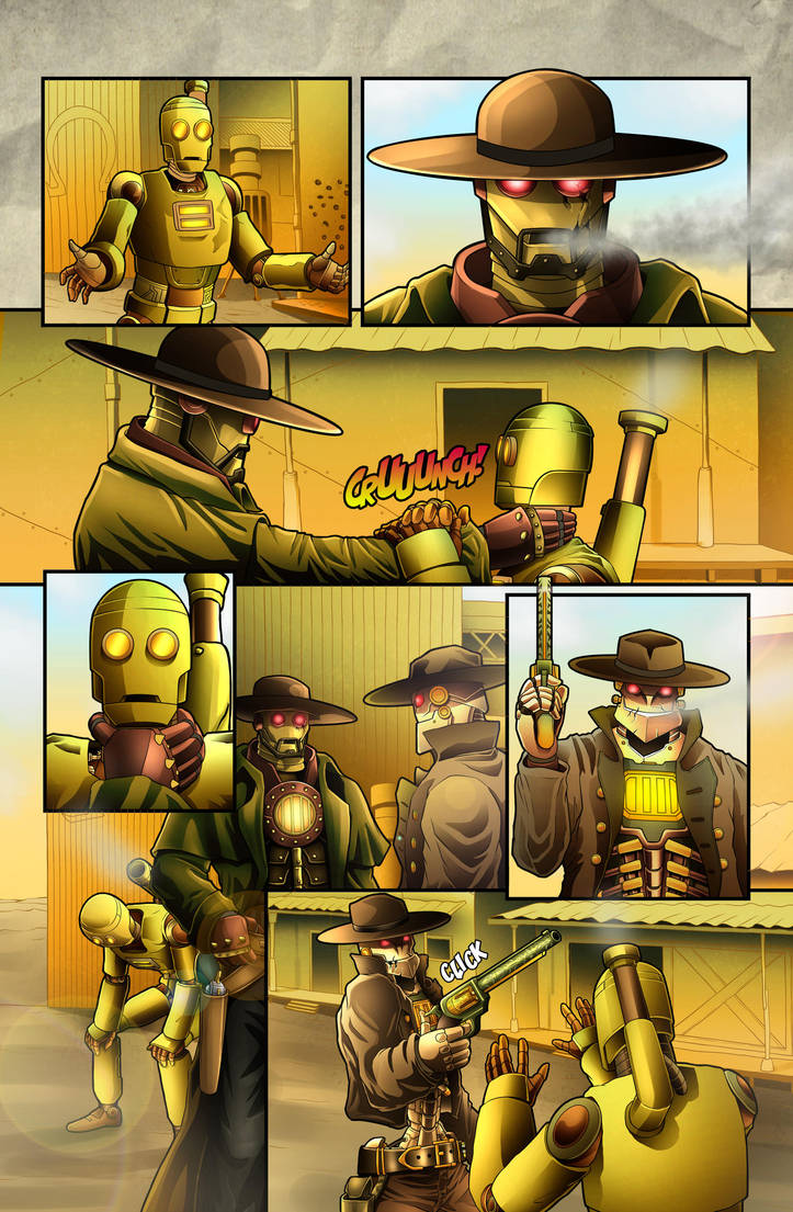 The Legend of Everett Forge Issue #1 Page 17 by castortroy3497