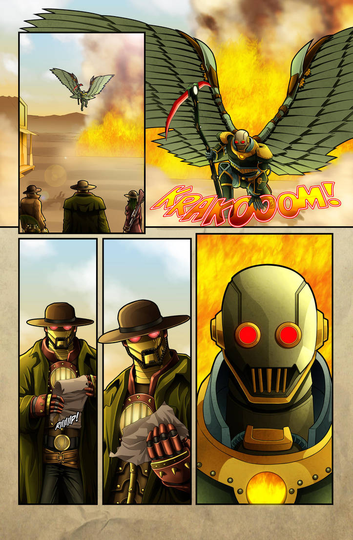 The Legend of Everett Forge Issue #1 Page 21 by castortroy3497